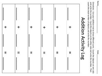 Addition Math Center - Ocean Theme