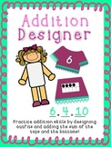 Addition Math Center (for Little Fashion Designers)