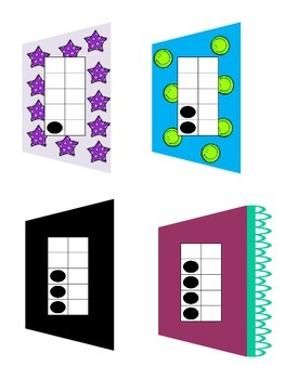 Addition Math Center (for Little Fashion Designers)