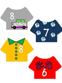 Addition Math Center (for Little Fashion Designers BOY version)