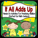 Addition: Addition Centers and Hands-On Addition Activities & Games