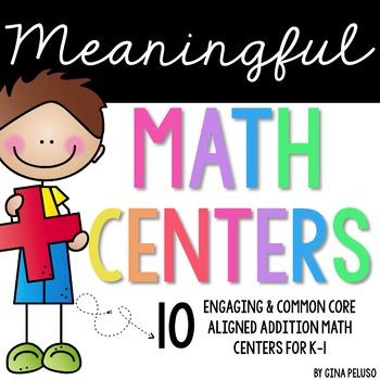 Math Centers (Addition)