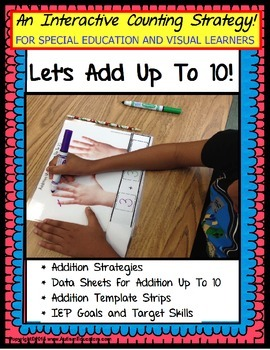 Addition Math Counting Strategies for Special Education/Au