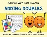 Addition Math Fact Fluency: Adding Doubles