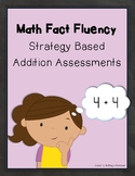 Addition Math Facts Fluency: Assessments