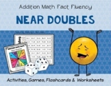 Addition Math Fact Fluency: Doubles Plus One