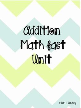 Addition Math Fact Unit