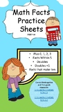 Addition Math Facts--8 Worksheets and two Math Fact Sorts