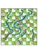 Addition Math Facts Chutes and Ladders - Chutes and Ladders Board Included