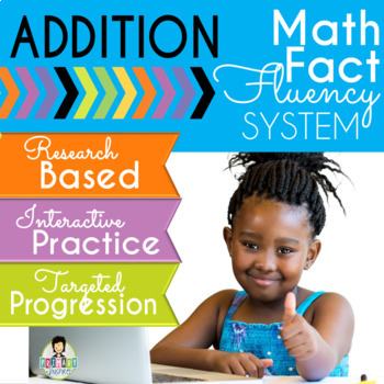 Addition Math Fact Fluency System