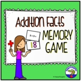 Addition Math Facts Game