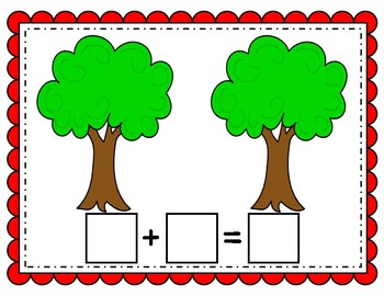 Addition Math Mats