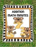 Addition Worksheet 1st Grade Additions Fluency Worksheets