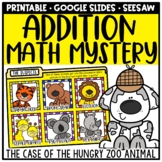 Addition Math Mystery - Digital & Printable for Distance Learning