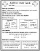 Addition Math Notebook