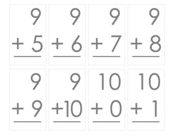 Addition Math Activities with Matching Games, Bingo and More