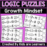 Growth Mindset Activities Addition Math Puzzles