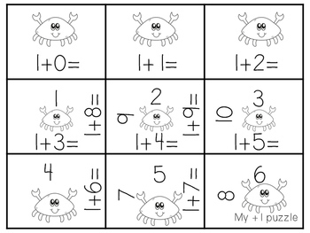 Addition Games to 10