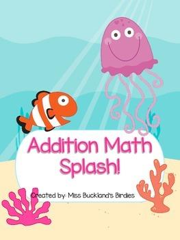 Addition Math Splash! Math Fact Game