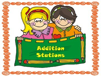 Guided Math Addition Math Stations