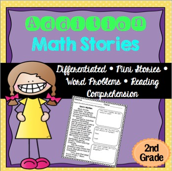 Addition Math Stories Word Problems 2nd Grade