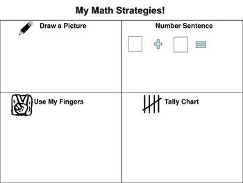 Addition Math Strategies Worksheets