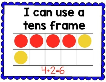 Addition Math Strategy Posters