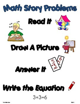 Addition Math Word Problems to 10 ** Winter/Snow Unit ** Read,Draw,Answer It!