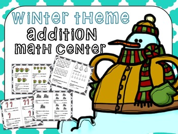 Addition Math Worksheets (Math Centers)