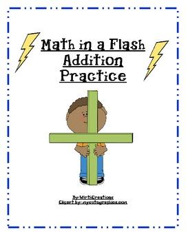 Addition Math in a Flash