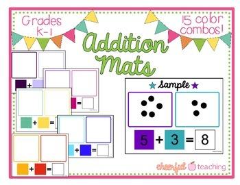 Addition Mats for K-2