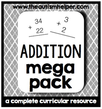 Addition Mega Pack {a complete curricular resource}