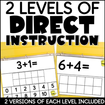 Addition Mega Pack for Special Education