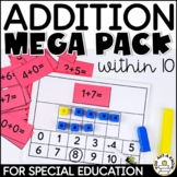 Addition within 10 Mega Pack for Special Education