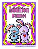 Addition Mental Challenge:  Bunnies