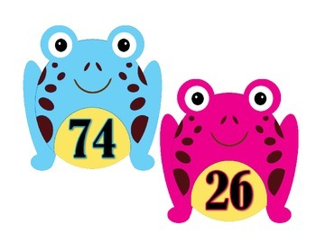 Addition Mental Challenge:  Frogs