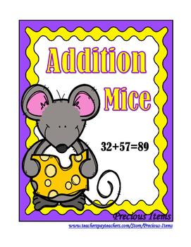 Addition Mental Challenge:  Mice and Cheese