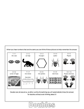 Addition Mental Math Flip Book