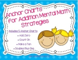 Addition Mental Math Strategies Anchor Charts