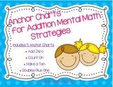 Addition Mental Math Strategies Anchor Charts