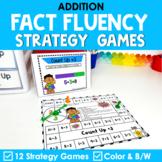 Math Fact Fluency Addition Games | Super Hero Theme