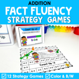 Math Fact Fluency Addition Games | Super Hero Theme