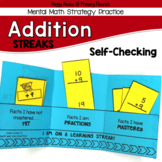 Addition Mental Math Strategy Practice Booklets