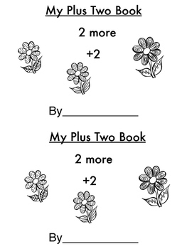 Addition Mini-Book: Adding 2 More