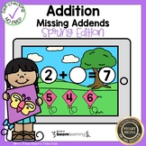 Addition Missing Addend Boom Cards℠
