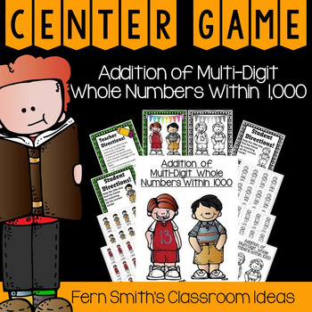 Addition Multi-Digit Numbers Within 1000 A Quick and Easy