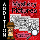 Addition Mystery Pictures