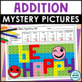 Addition Mystery Pictures - Emoji Edition