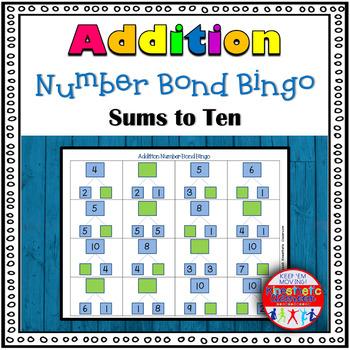 Addition Number Bond Bingo