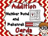 Addition Number Bond and Rekenrek Basic Fact Cards